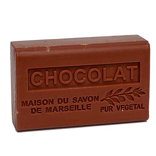 French Soap, Traditional Savon de Marseille - Chocolate 125g