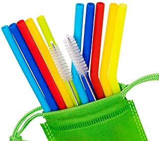 Best silicone drinking straws Reviews