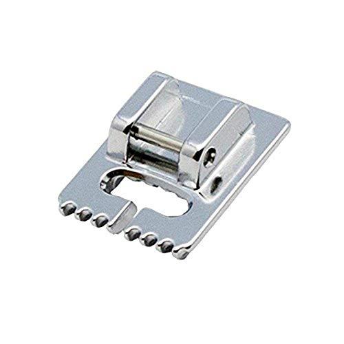 Alfa Prensatelas para alforzas, accesorio para máquina de coser, acero inoxidable