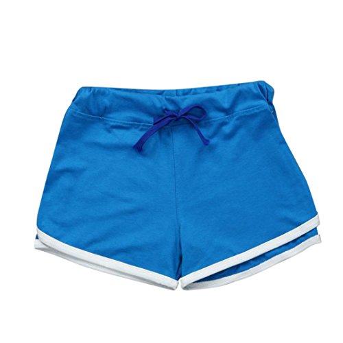 TWIFER Sommer Hosen Sport Shorts Damen Fitness Workout Bund Dünne Yoga Elastische Hose