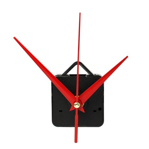 TONSEE Brand New Quartz Clock Movement Mechanism with Hook DIY Repair Parts + Hands (F)