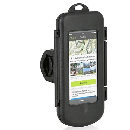 Wicked Chili Smartphone Splash Box L Fahrrad/Motorrad Halterung für Samsung, LG, HTC, Sony, Huawei...