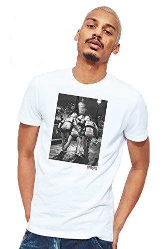 Chunk Herren T-Shirt Weiß weiß Large Gr. XXL, weiß