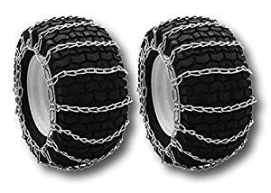 MowerPartsGroup (1 Set) 2-Link Tire Chains 26x12.00-12