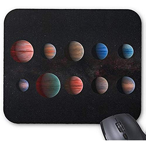 Tappetino per mouse Mousepad Space Planet Print