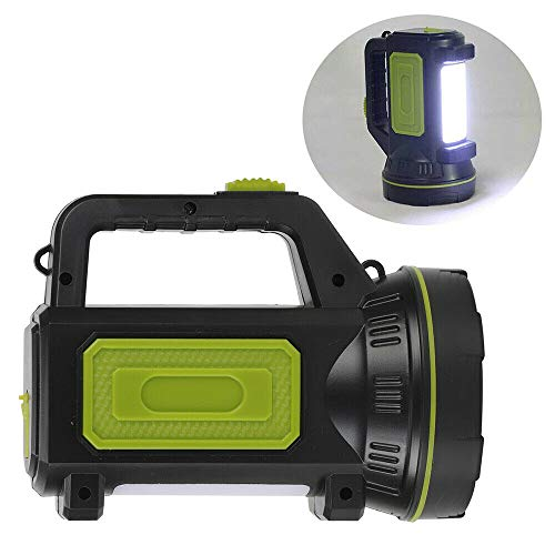 cff Torcia LED Potente ad Alta Potenza Searchlight Spotlight USB Torcia LED Ricaricabili Lampada da Lavoro 135000LM