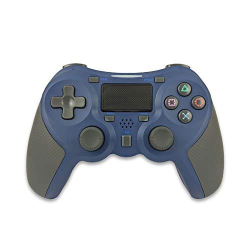 Rzj-njw Control para Juegos de PS4 PS4 Wireless Gamepad vibración Dual para Playstation 4 Joystick Bluetooth Joypad,Azul