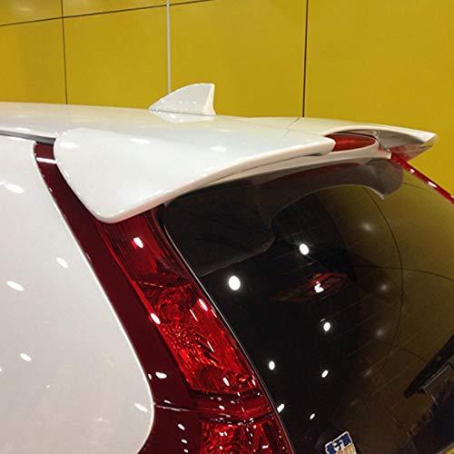 D28JD Auto-hintere Spoiler ABS Auto-Auto-Endstück-Dekoration Spoiler Flügel Zubehör für H-onda CRV 2012-2016,Pearl White,not Punch