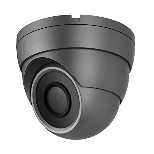 HDView 2.4MP 4-in-1 HD (TVI/AHD/CVI/960H) 1080P Outdoor Black Film Technology Better Matrix IR Night Vision Turbo Platinum Dome Camera Grey