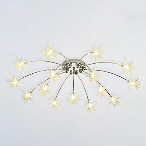 Lampe de Plafond LED Lustre Moderne Design Enfants Luminaire Plafonnier Lampe Métal Intérieur Décoratif 15 Meteor Pendentif Éclairage Edison Ampoule Pour Salon Balcon Couloir Bar Garderie Blanc chaud