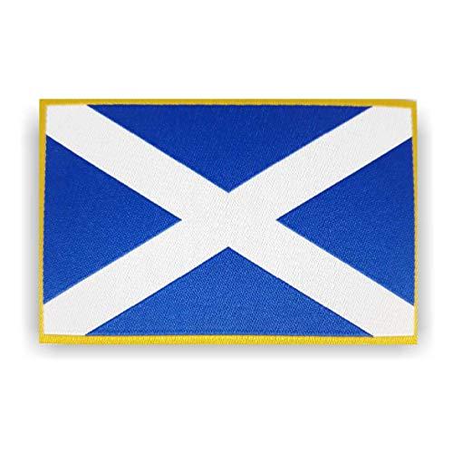 Parche genérico de la bandera de Escocia