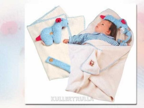 Käthe Kruse 89003 Babydecke mit Lamm