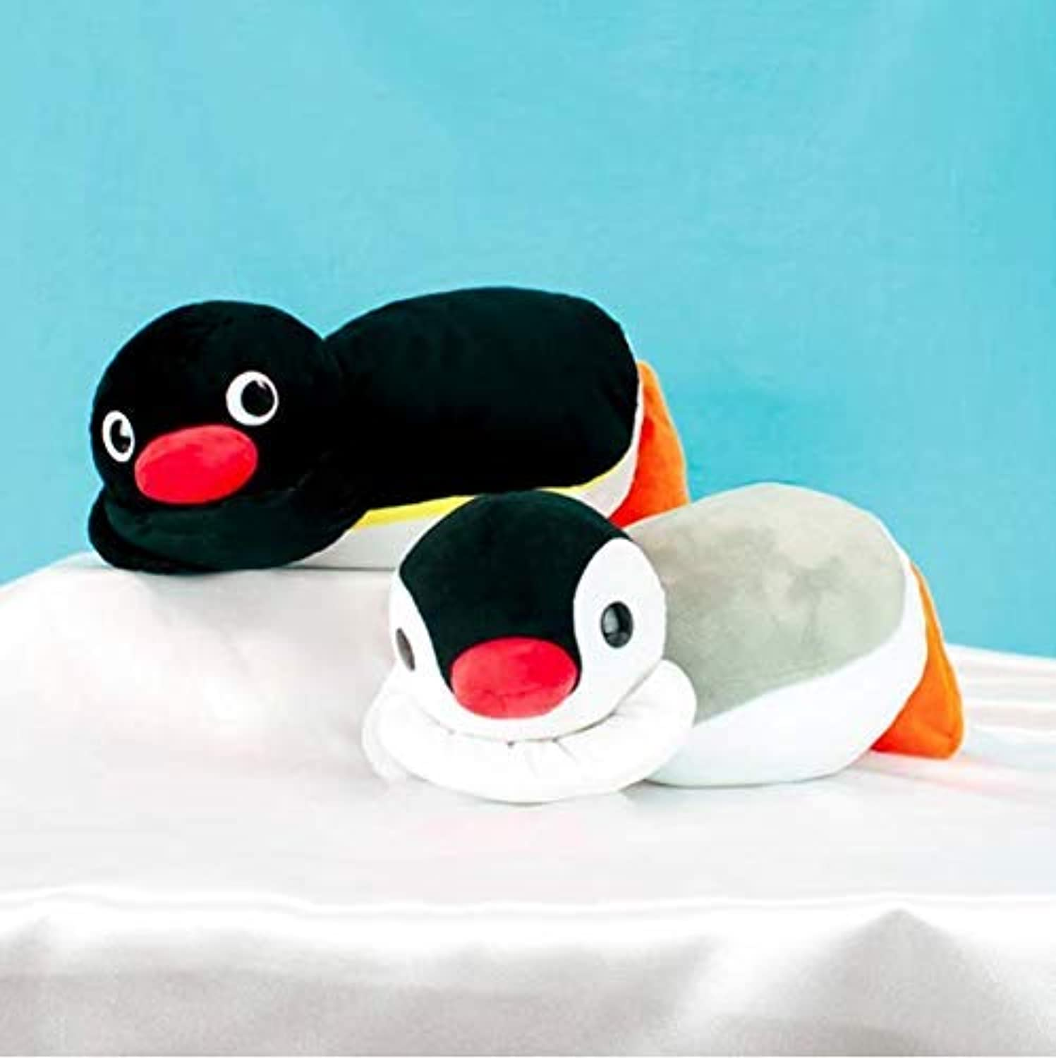 Furyu Pingu and Pinga Nesoberi BIG stuffed plush 30cm 2set kawaii japan item