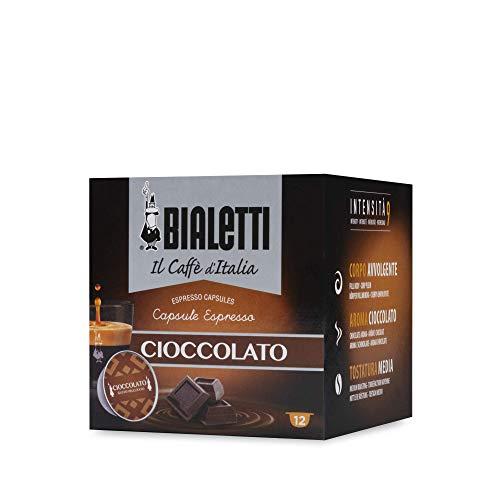 """Bialetti \""""Gourmet\"""" Gusto Cioccolato - Confezione da 12 pezzi"""