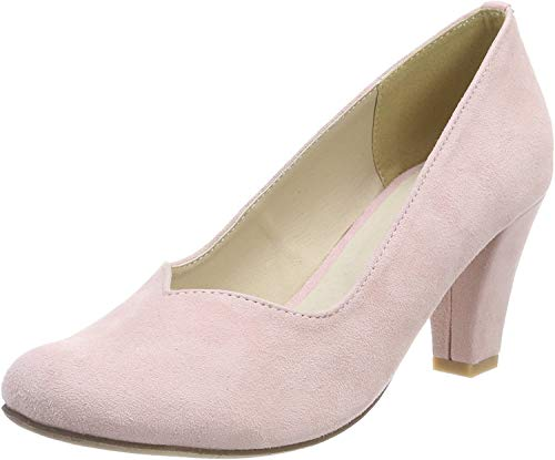 HIRSCHKOGEL Damen 3000507 Pumps, Pink (Rose), 36 EU