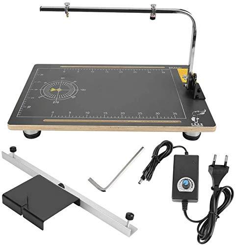 Generic Schaum-Schneidemaschine, Einstellbare Styroporschneider Styropor Cutter Arbeitsstand Tisch Werkzeug 38 * 58 cm