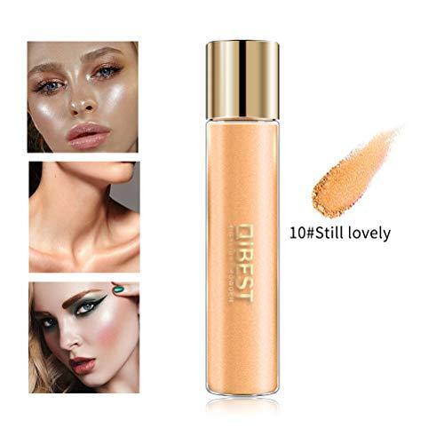 Comtervi Poudre Fluorescente, Poudre Brillante Palette Poudre Surligneur Shimmer Poudre Maquillage Fard à paupières 1PCS