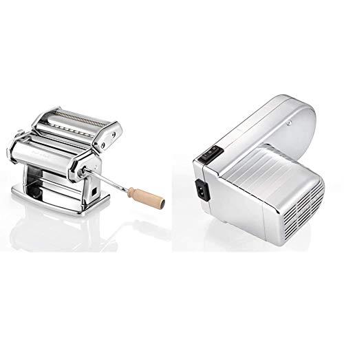 IMPERIA Motore Pasta Facile, colore argento, Accessorio Elettrico per Macchina Pasta + Motorino