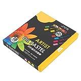 Pastel al óleo de 18 colores, juego de pasteles al óleo, bonito regalo para niños Cobertura de color fuerte
