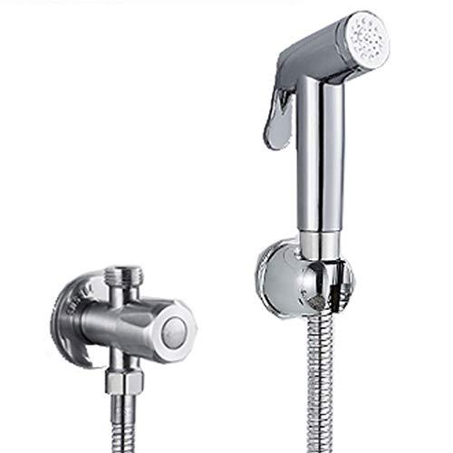 YULAN spuitpistool kleine douche bidet sproeier drukopdruk vrije stansen Wc Partner slang hoekventiel vierdelige huishoudbadkamer 30 mm * 64 mm * 142 mm