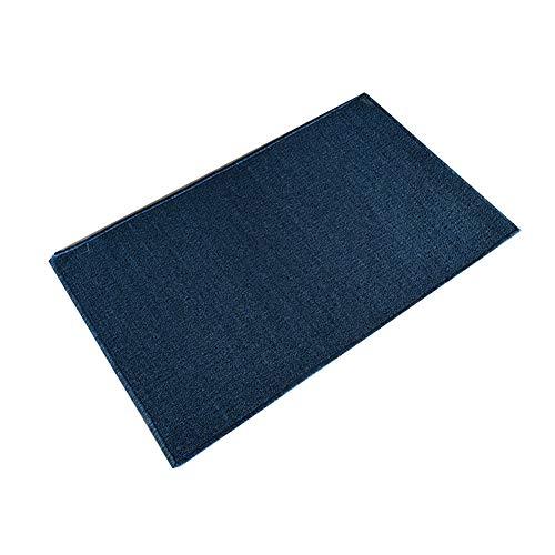 Inconnu Tapis d'entrée Tapis de Cuisine Paillasson Absorption d'eau Tapis de Pied Chambre Tapis antidérapant Blue- 100 * 50cm