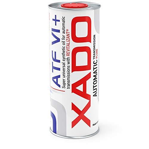 XADO ATF 6+ Huile de Transmission Automatique avec revitalisant – Protection Contre l'usure – Huile de Transmission Automatique synthétique de la dernière génération ATF VI+, 1 l