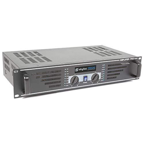 Skytec SKY-240B 2.0canali Resa/fase Cablato Nero amplificatore audio