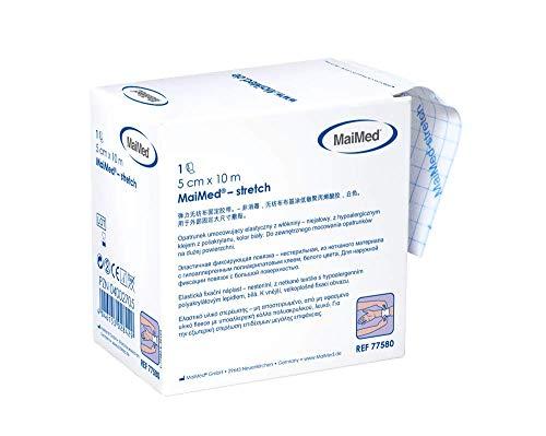 MaiMed stretch FIxiervlies elastisch Spenderbox 10 m (10 cm x 10 m)