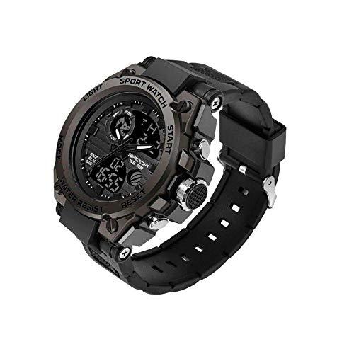Sanda Relógio Masculino Sanda Militar Esportivo Original - Preto Black - Modelo 739