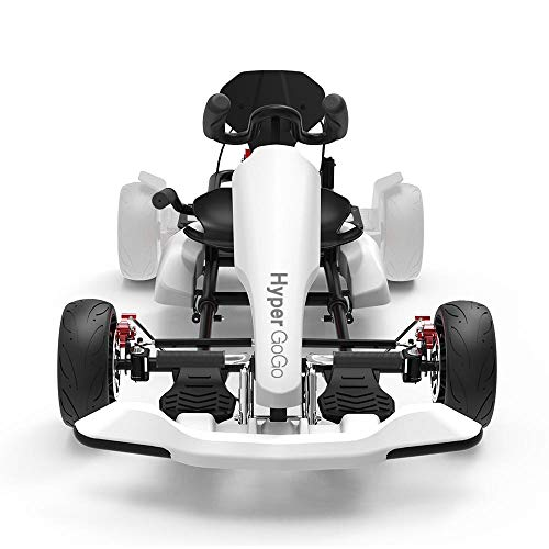 HYPER GOGO GoKart Kit - Hoverboard Attachment - Compatible with all hover boards ,White