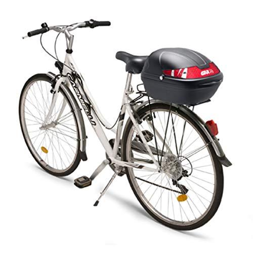 Givi CY14N Fahrrad Topcase, Schwarz, Größe 306 x 222 x 330 mm
