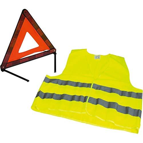 Kit gilet avec triangle de sécurité homologué