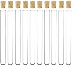 Glass Test Tube With Cork Stopper 13x100mm 4 Inch Pack 50,Delivery In 8-19days For US CA AU Buyer