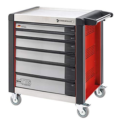 Stahlwille 98va/6 Werkstattwagen tts 6 Schubladen weiß