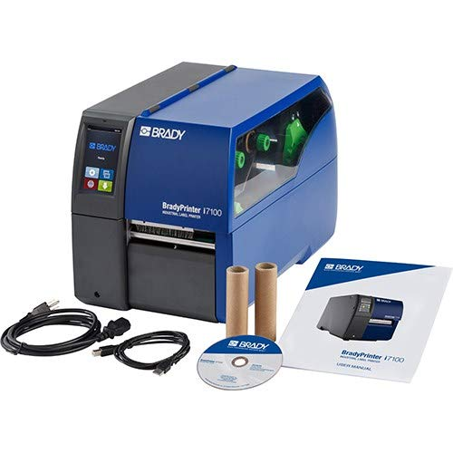 Brady Over item handling i7100 600dpi Industrial Label - an Sign price Printer Heavy-Duty