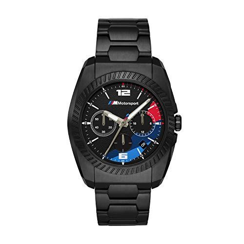 BMW BMW3002 M Motorsport Chronograph Uhr Herrenuhr 5 bar Analog Datum schwarz
