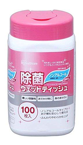 アイリスオーヤマ『除菌ウェットティッシュ ノンアルコール(RWT-NB100)』