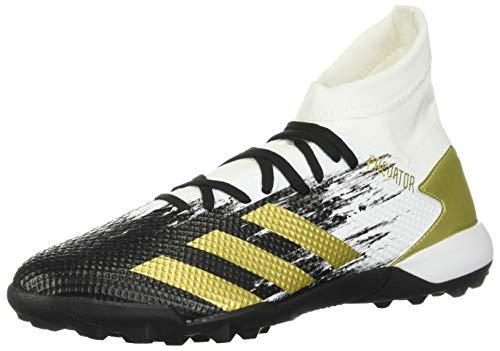 adidas Predator 20.3 Turf Soccer Shoe (mens) White/Gold Metallic/Black