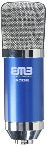 EMB EMC920 Professional High-Performance Multi-Pattern Diaphragm Condenser Project Studio Microphone BLUE