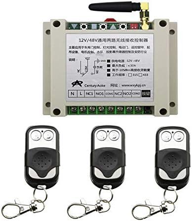 High material Calvas DC 12V 24V 36V 48V 8A 2CH Remote Control Re 1 RF Ranking TOP9 Wireless