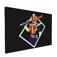 仮面ライダー フレームレス装飾画 インテリア装飾 アートパネル フレーム装飾画 キャンバス 壁飾り 壁掛け アートポスター 贈り物 壁の絵 インテリア装