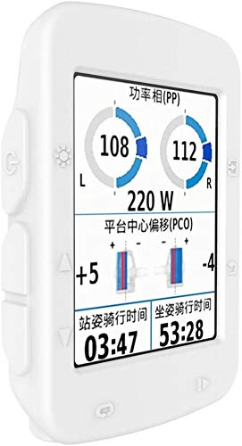 Funda para Garmin Edge 520 – Garmin Edge 520 – Funda protectora de silicona + protector de pantalla GPS Bike Computer Accessories