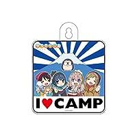ゆるキャン△ カーサイン I LOVE CAMP