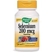 Natures Way Nature's Way Selenium 200 mcg, 100 Capsules