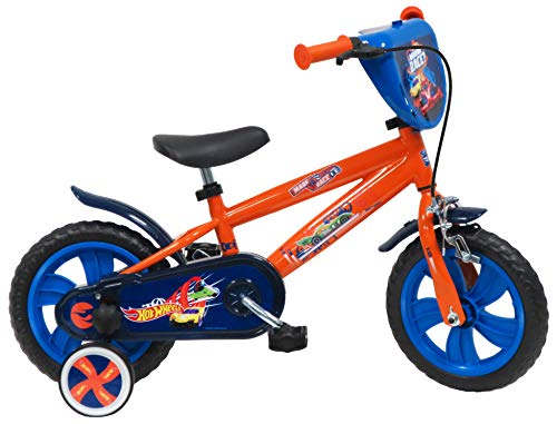Mondo Boys Hot Wheels Bicicleta de 30,48 cm, Color Rojo