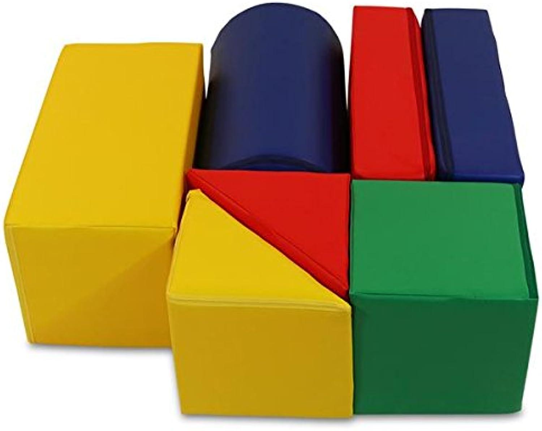 Igel-Max Versand Krippen XL Softbausteine Bausteine 7 Teile B071D8XPDD  Neues Produkt | Moderne und stilvolle Mode