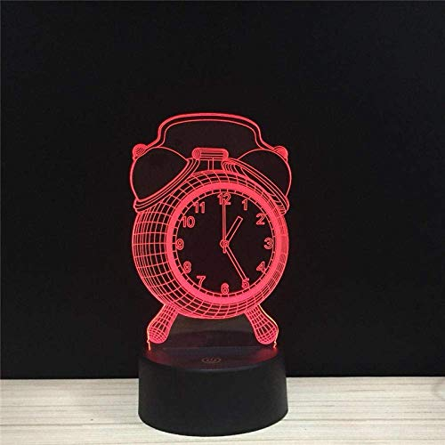 Lámpara de ilusión 3D Anillo de luz nocturna LED Accesorio de acrílico Control remoto Decoración para niños Los mejores regalos de vacaciones de cumpleaños para niños