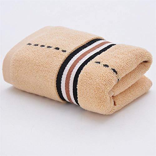 Fuduoduo Altamente Absorbente Suave Towel,Toalla Suave Absorbente Engrosada a Cuadros 35 * 75-Amarillo 4 Piezas,Alta Densidad AlgodóN Toallas