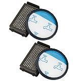 Kit de Filtres pour les Aspirateurs Rowenta RO3731EA Moulinex Tefal Compact Power Cyclonic, Alternative à ZR005901