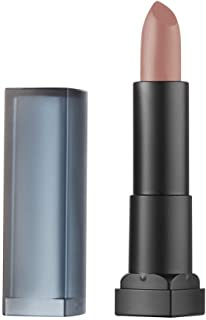 Maybelline New York - Color Sensational Pintalabios Mate Hidratante Tono 15 Smokey Taupe